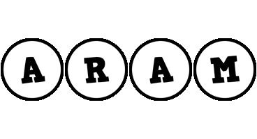 Aram handy logo