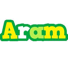 Aram soccer logo