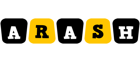 Arash boots logo