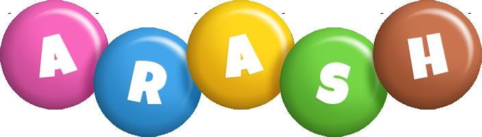 Arash candy logo