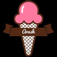Arash premium logo
