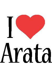 Arata i-love logo