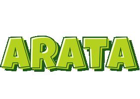 Arata summer logo