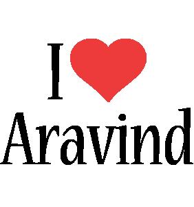 Aravind i-love logo