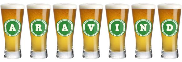 Aravind lager logo