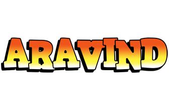 Aravind sunset logo