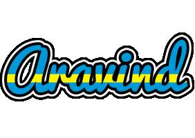 Aravind sweden logo