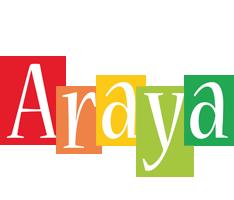 Araya colors logo