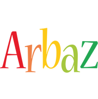Arbaz birthday logo