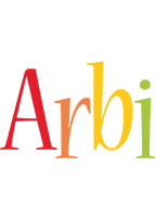 Arbi birthday logo