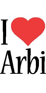 Arbi i-love logo