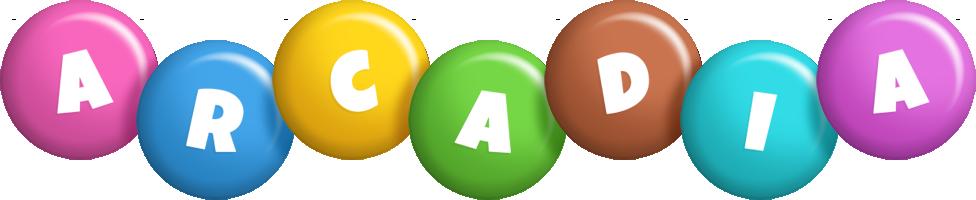 Arcadia candy logo