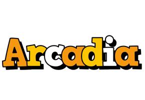 Arcadia cartoon logo