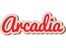Arcadia chocolate logo