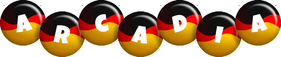 Arcadia german logo