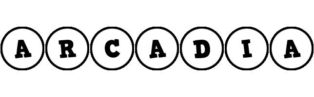 Arcadia handy logo