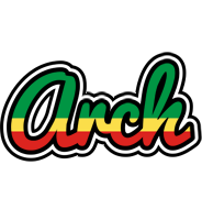 Arch african logo