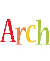 Arch birthday logo