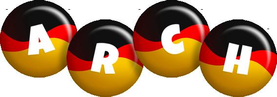 Arch german logo