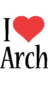 Arch i-love logo