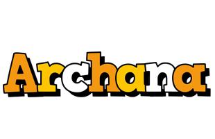 Archana cartoon logo