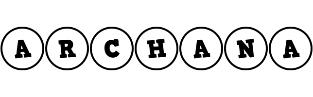 Archana handy logo