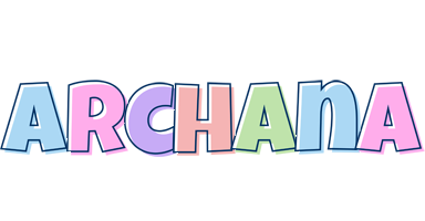 Archana pastel logo