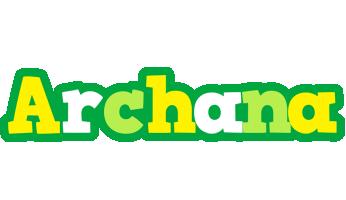 Archana soccer logo