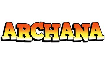 Archana sunset logo
