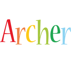 Archer birthday logo