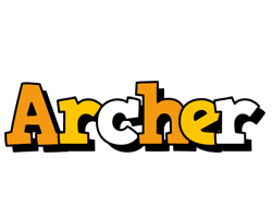 Archer cartoon logo