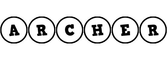 Archer handy logo