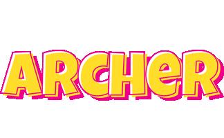Archer kaboom logo