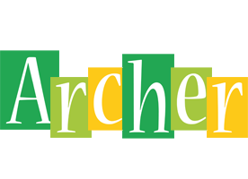 Archer lemonade logo