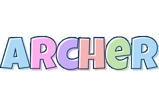 Archer pastel logo