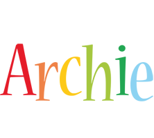 Archie birthday logo