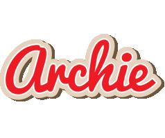 Archie chocolate logo