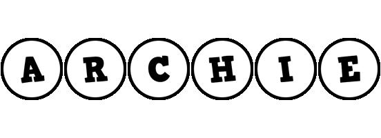 Archie handy logo