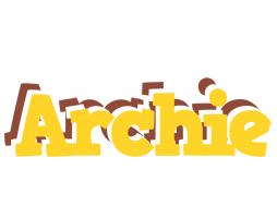 Archie hotcup logo