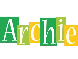 Archie lemonade logo