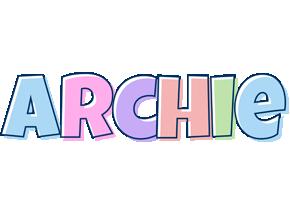 Archie pastel logo