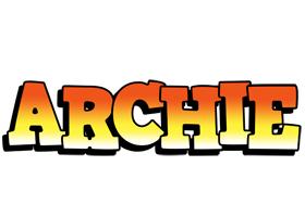 Archie sunset logo