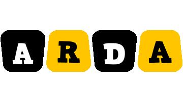 Arda boots logo