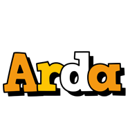 Arda cartoon logo