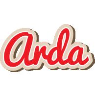Arda chocolate logo