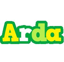 Arda soccer logo