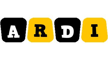Ardi boots logo