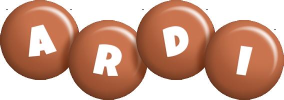 Ardi candy-brown logo