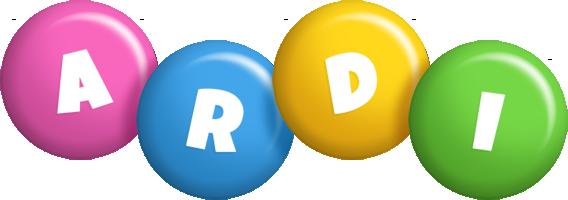 Ardi candy logo