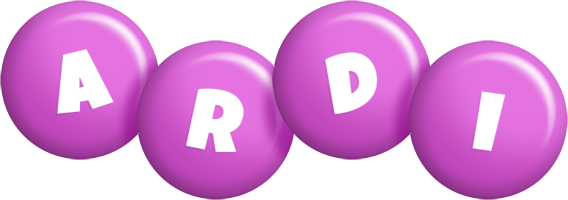 Ardi candy-purple logo